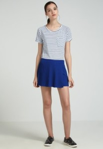 top shop blue shorts