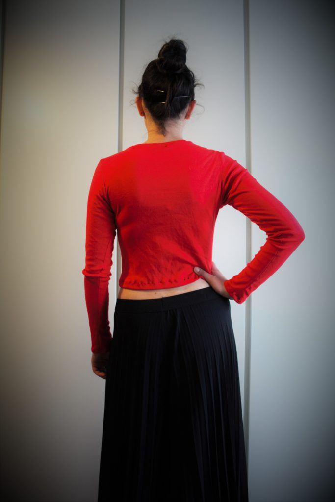 CROP TOP ROSSO MAGLINA (7)